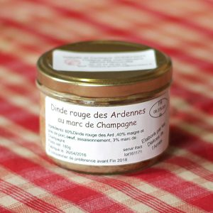 prod- dinde au marc de champagne 180g