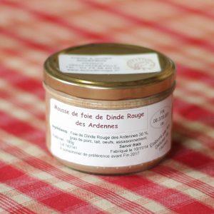 prod-mousse de foie de dine 180g